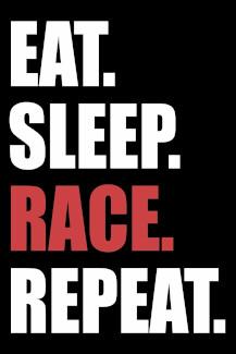 Rennfahrer Autotuning Racer Notizbuch