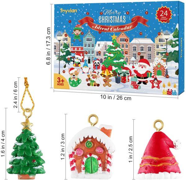 Toyvian Weihnachtsschmuck 2021 Inhalt Bild 1