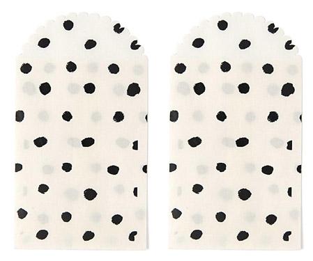 PAPIERTÜTCHEN-schwarze-Punkte