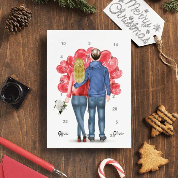 Paar-Adventskalender, Bild 2