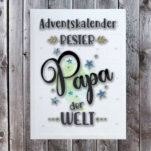Papa-Adventskalender, Bild 1