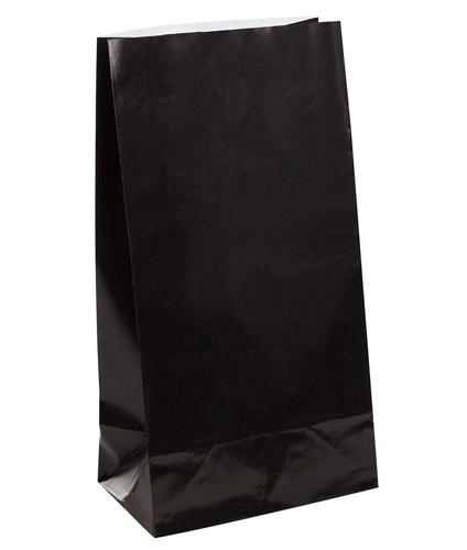 Schwarze-Papiertütchen