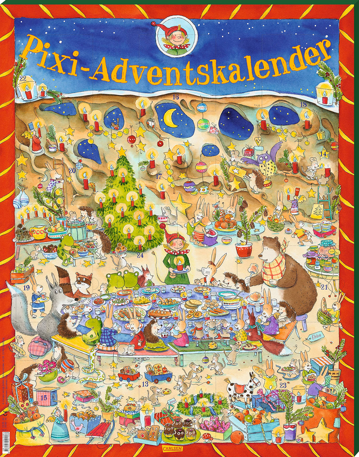 amazon Pixi Adventskalender 2016
