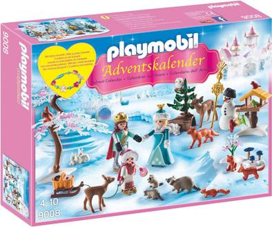 Playmobil Adventskalender 9008 Eislaufprinzessin im Schlosspark
