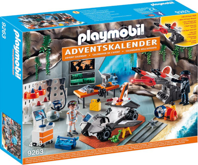 Playmobil Adventskalender 9263 Spy Team Werkstatt