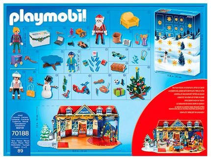 Playmobil Weihnachten im Spielwarengeschäft Adventskalender 2019 Inhalt