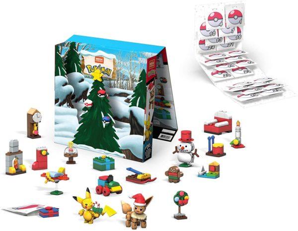 Inhalt: Mega Construx Pokémon Adventskalender 2020