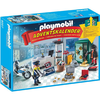 Polizeieinsatz Im Juweliergeschaeft Playmobil Adventskalender 2016
