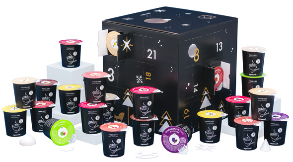 mymuesli Adventskalender 2018 - Porridge 2go - Inhalt