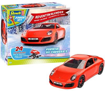 Porsche-911-Revell-Junior-Kit-Adventskalender-2018