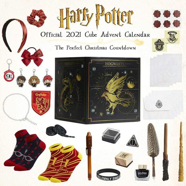 Harry Potter Würfel-Adventskalender Inhalt