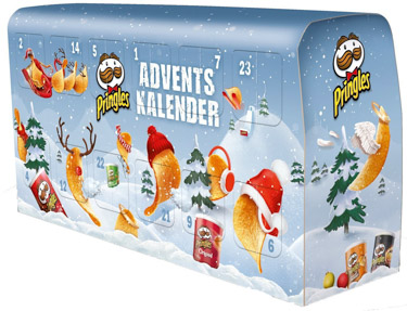Pringles Adventskalender Chips