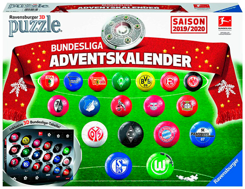 Ravensburger-11681-Bundesliga-Adventskalender-2019