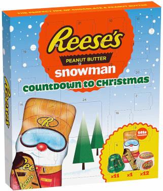 Reeses Snowman Kalender