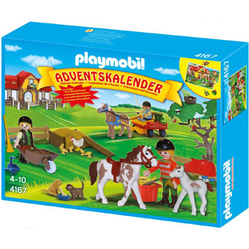 Reiterhof Playmobil Adventskalender 2012