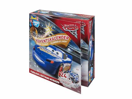 Adventskalender Cars Lightning McQueen blau