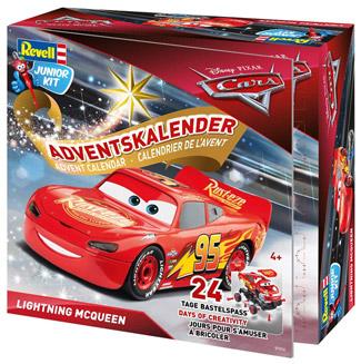 amazon Revell Lightning McQueen Adventskalender 2018