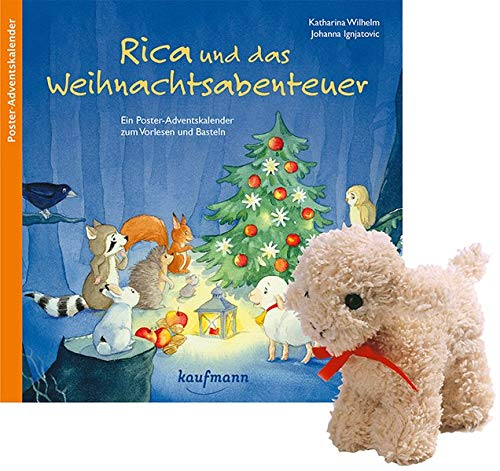 Rica Adventskalender Stoffschaf