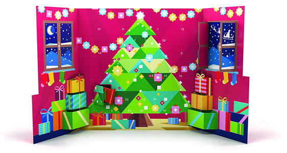 Ritter-Sport-Pop-Up-Adventskalender