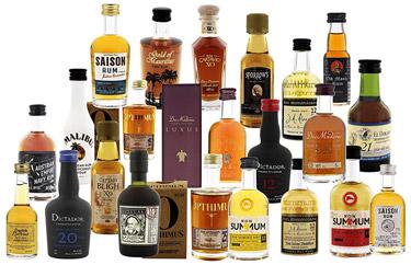 Rum-Adventskalender-Grün