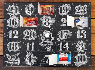 Süßer Kalender