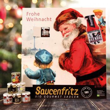 Saucenfritz Adventskalender 2017