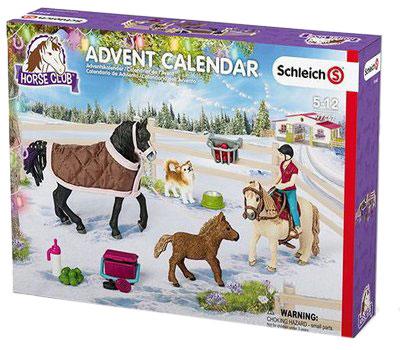 Schleich Adventskalender 2017 Pferde