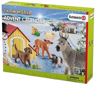 Schleich Adventskalender 2017 Bauernhof