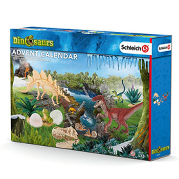 Schleich Dinosaurier Adventskalender 2016