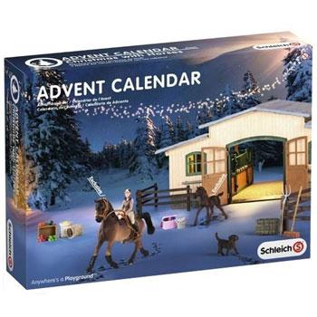 Schleich Pferde Weihnacht Adventskalender 2016