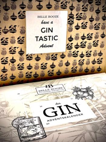 Gin Adventskalender belle booze 2021