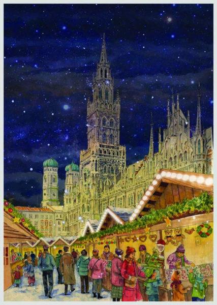 Sellmer Papier - Adventskalender München 2019
