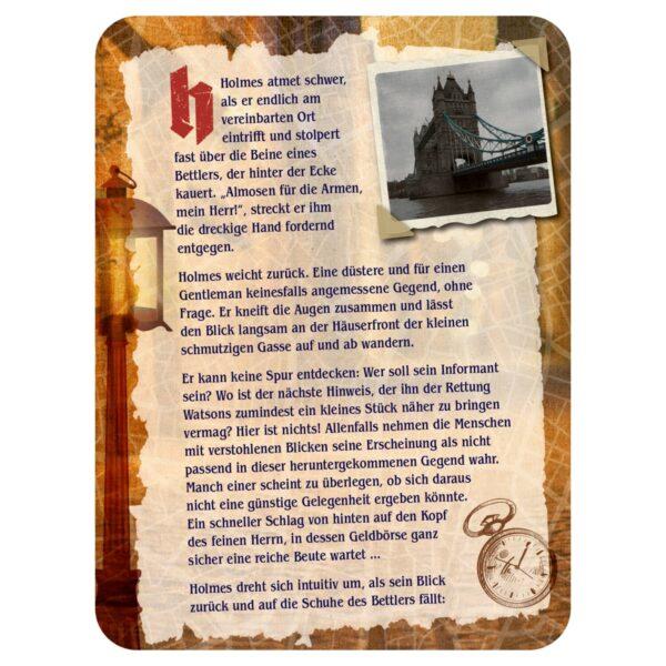 Sherlock Holmes - Die mysteriöse Jagd durch London Inhalt Bild 2