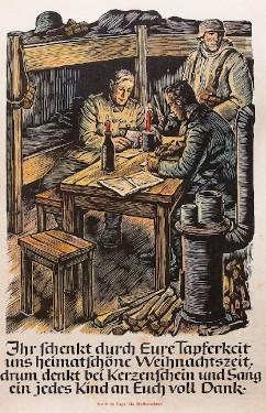 Vorweihnachten Adventskalender Geschichte, Adventskalender im Dritten Reich, Soldaten