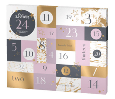 s.Oliver Magic Scented Moments Adventskalender 2019