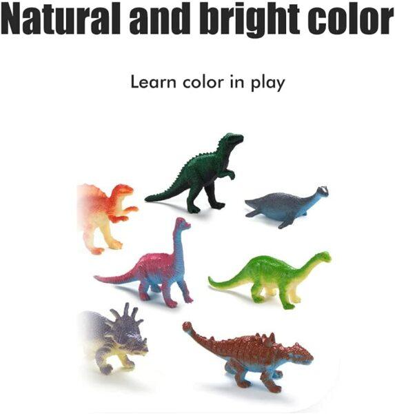 Adventskalender Dinosaurier Farben Figuren