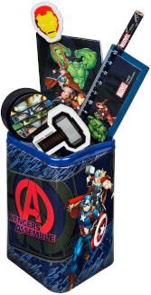 Stifteköcher, befüllt, Avengers