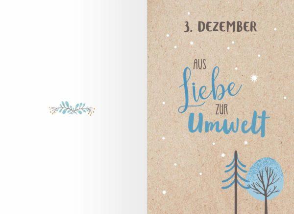 Tanz durch den Schnee Adventskalender Inhalt