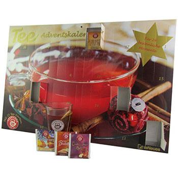 Teekanne Fruechtetee Adventskalender 2016
