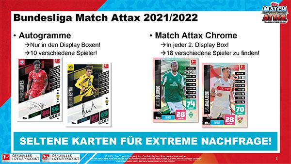 Topps Match Attax Bundesliga 2021/2022 - Bild 1