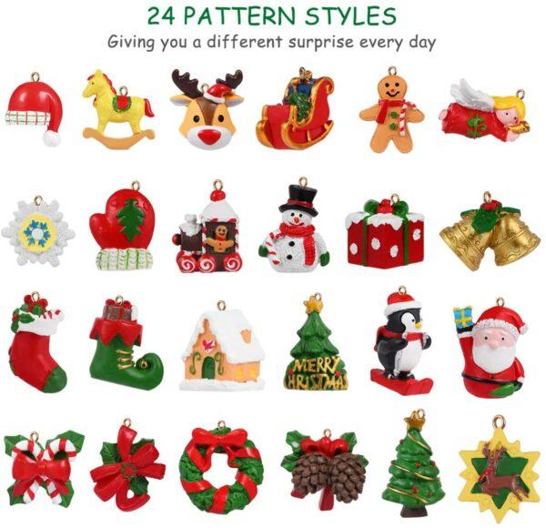 Toyvian mit Miniatur-Weihnachtsfiguren Inhalt Bild 1