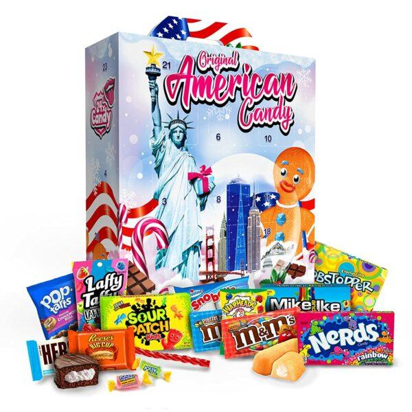Premium USA Süßigkeiten 2021 Inhalt