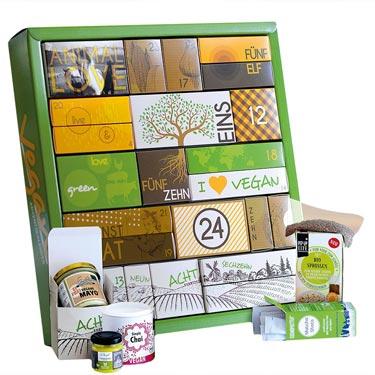 Vegan & BIO Adventskalender
