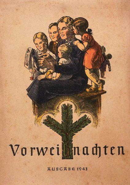 Adventskalender Geschichte - Titelbild Vorweihnachten, Adventskalender im Dritten Reich