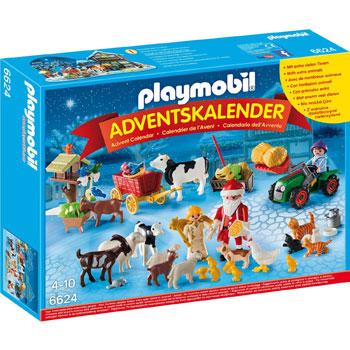 Weihnacht auf dem Bauernhof Playmobil Adventskalender 2015