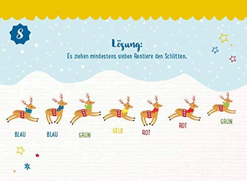 Weihnachtsrätsel Adventskalender Inhalt
