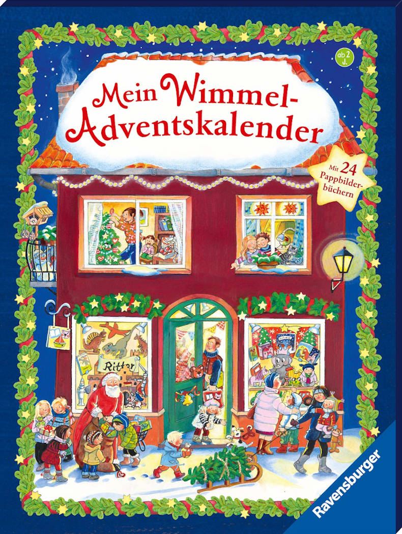 amazon Mein Wimmel Adventskalender