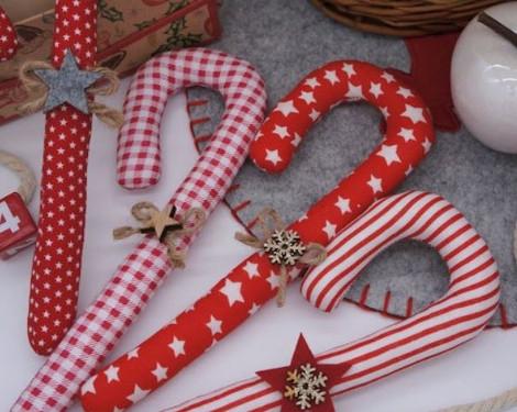 Zuckerstangen Weihnachtsdekoration Füllen Adventskalender Frauen