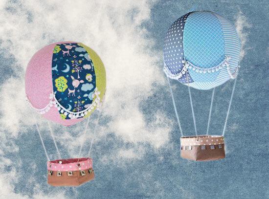 Adventskalender Adventsballon - Nähen