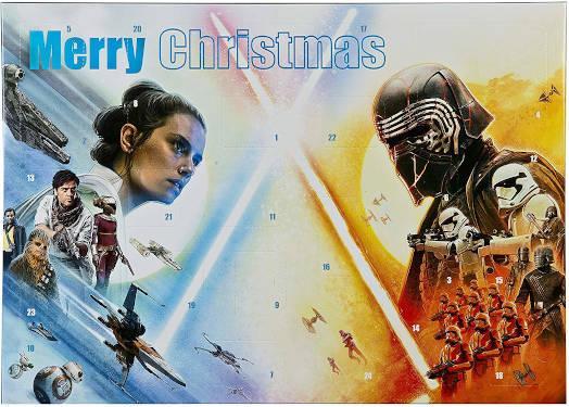 Schreibwaren Star Wars Adventskalender 2019